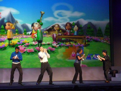[TOPIC NOSTALGIQUE] L'E3 en image E3-2008-Wii-music