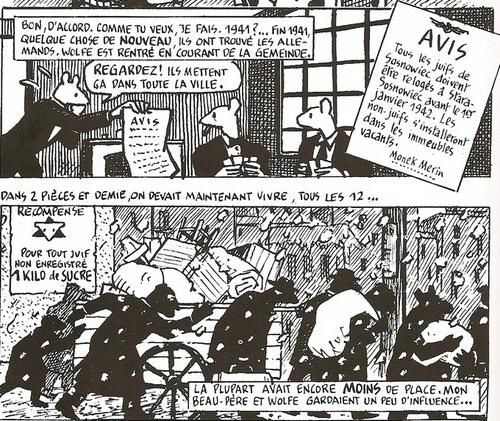 an analysis of the portrayal of survivors of the holocaust in the maus of art speigelman And a jewish holocaust survivor should use nazi propaganda because f 'maus' and art spiegelman, too home / history / maus by vladek spiegelman.