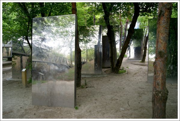 1000 images about landscape ursula kurz pasodoble on for Miroir jardin